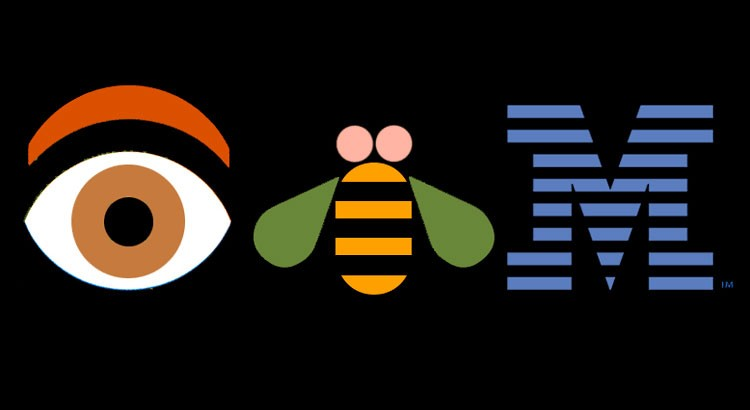 eye bee m poster by Paul Rand