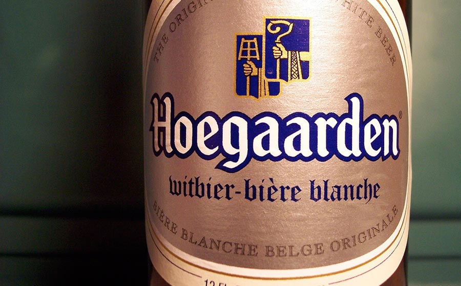 Hoegaarden bottle