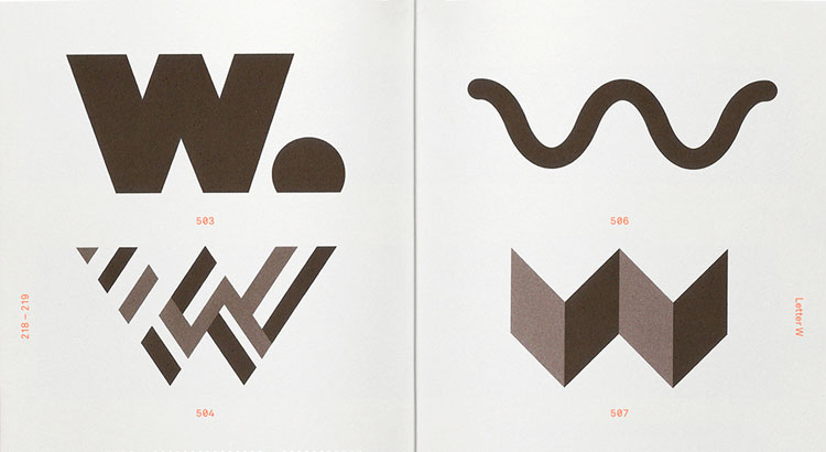 Alphabet Logo, from Counter-Print | Logo Design Love