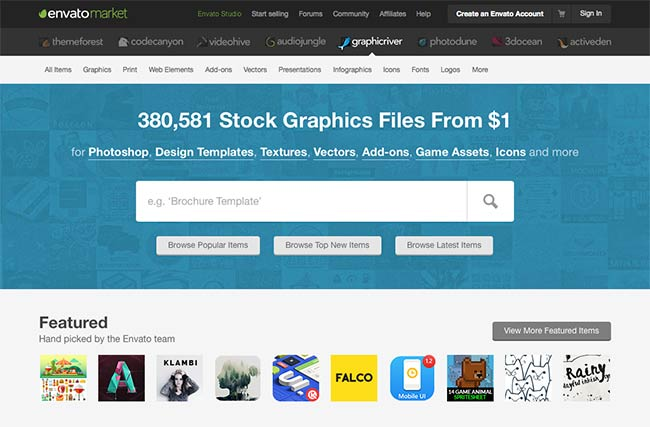 GraphicRiver PSD mockups