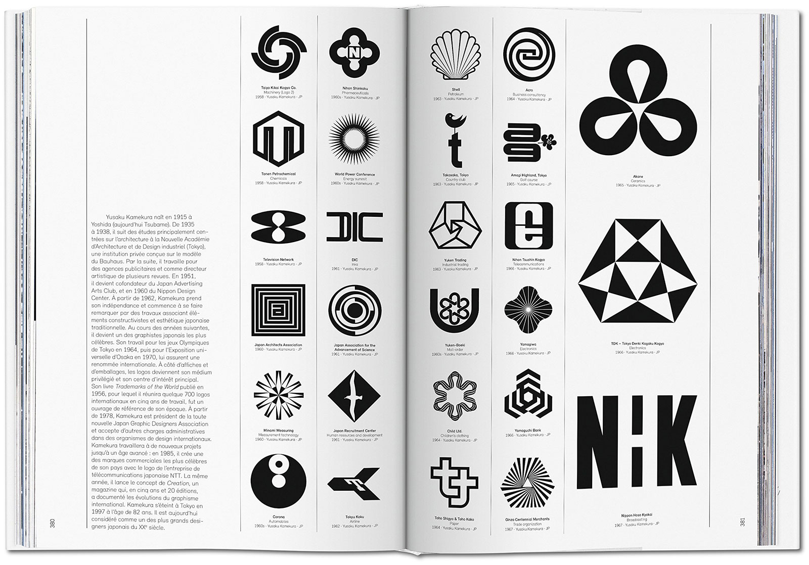 Logo Modernism book spread