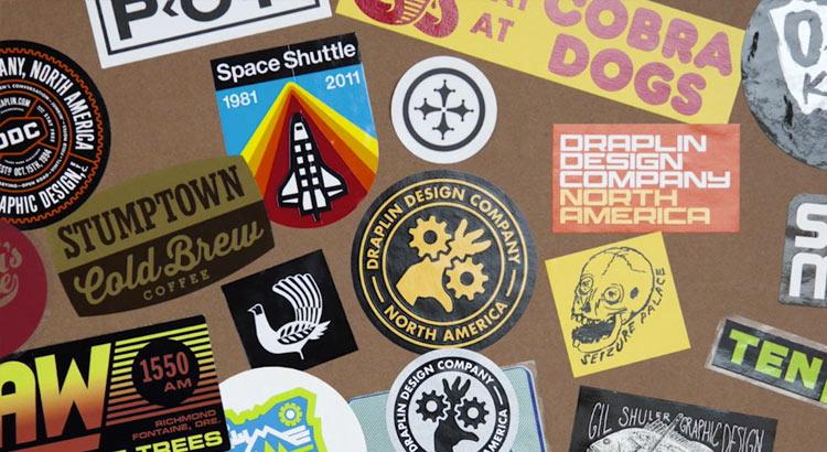 Draplin logos