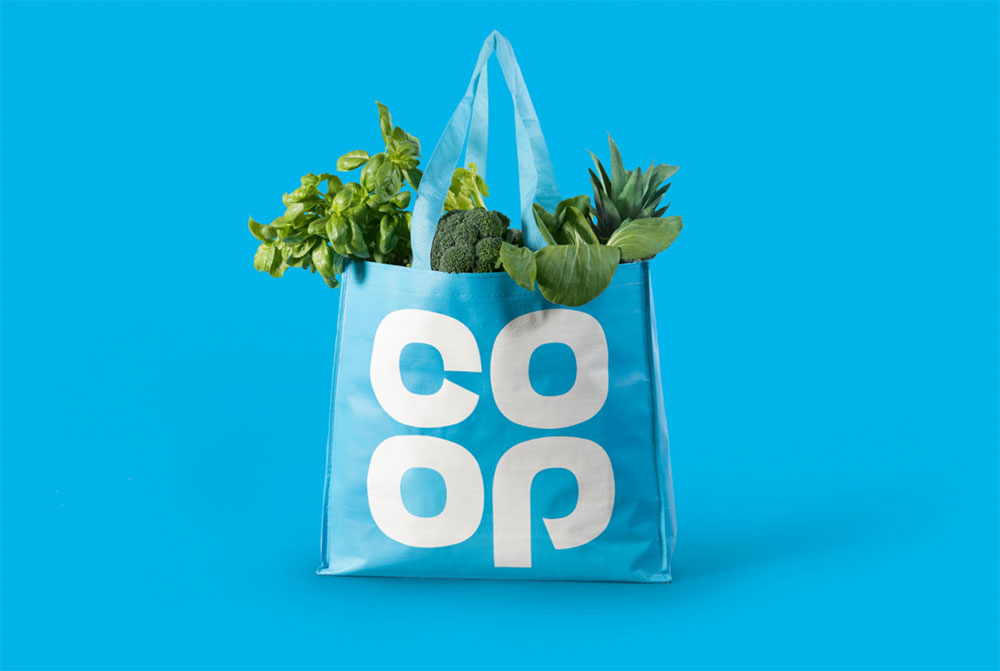Co Op logo bag