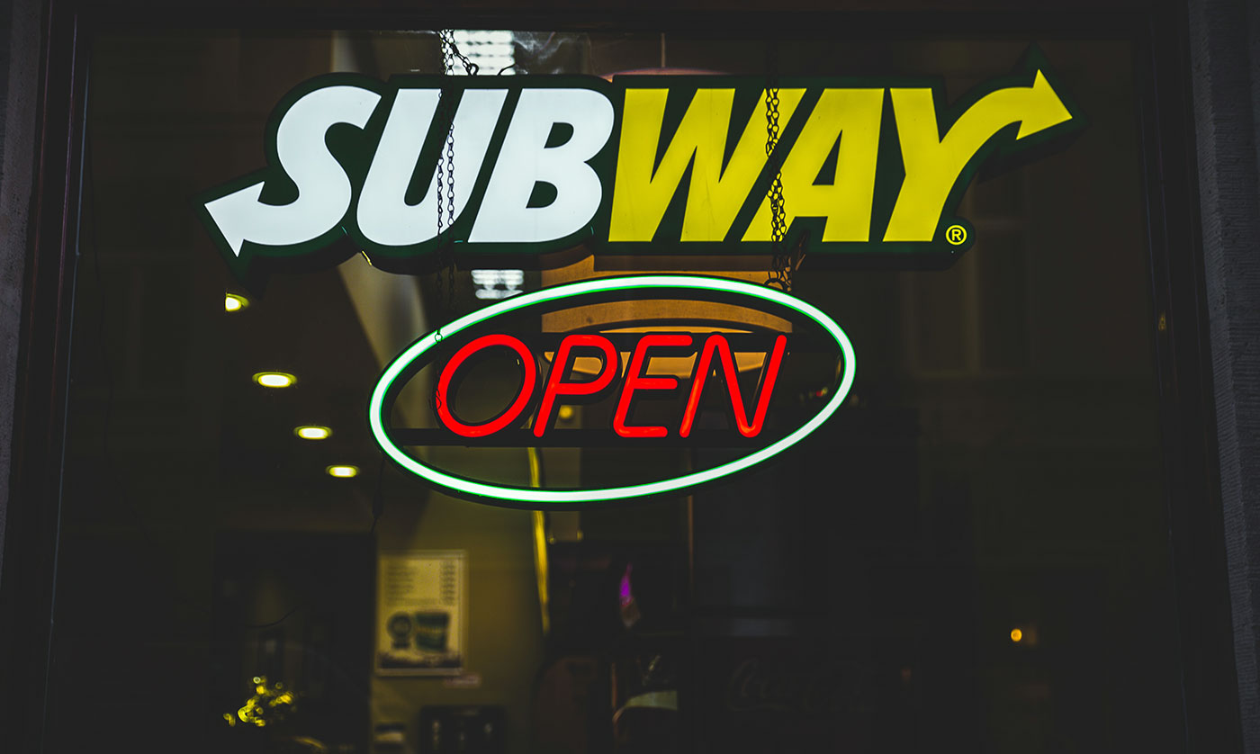 Subway store logo