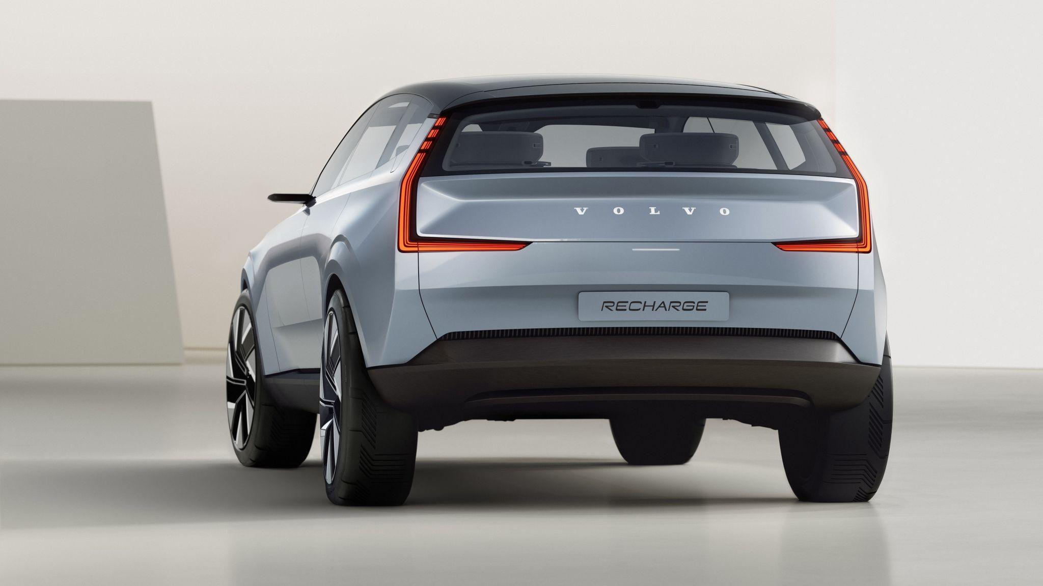 Volvo concept car logo