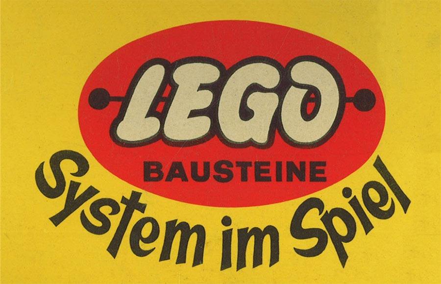 German Lego logo 1956