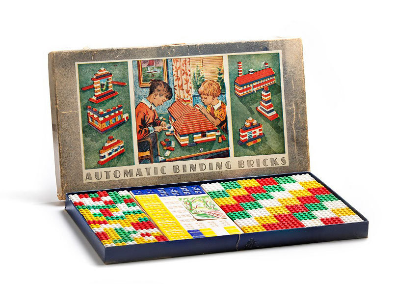 Lego automatic binding bricks 1949