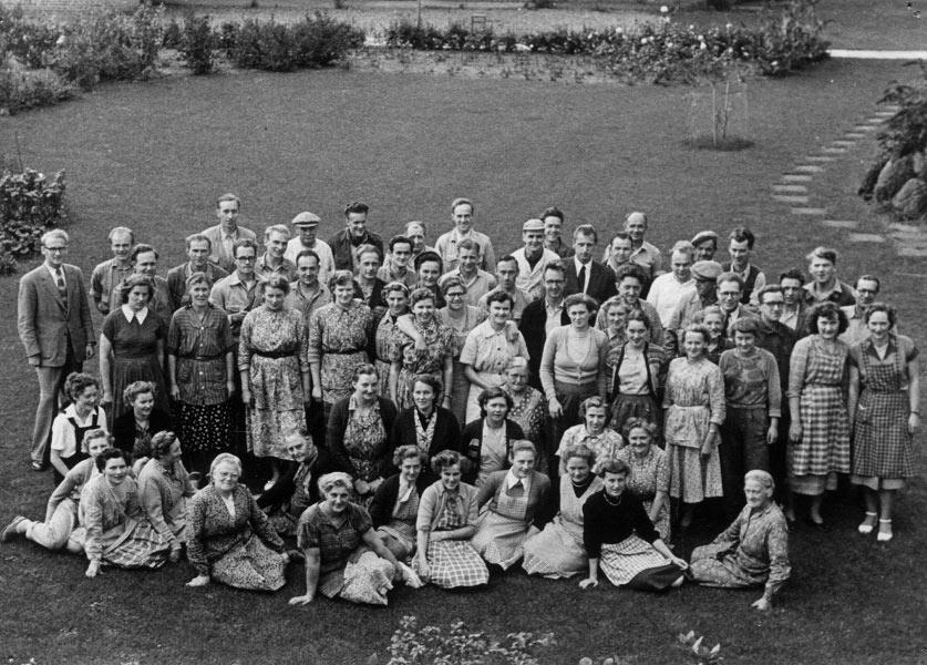 Lego employees 1954