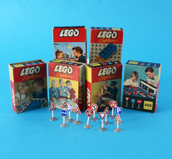 Lego System packaging 1960