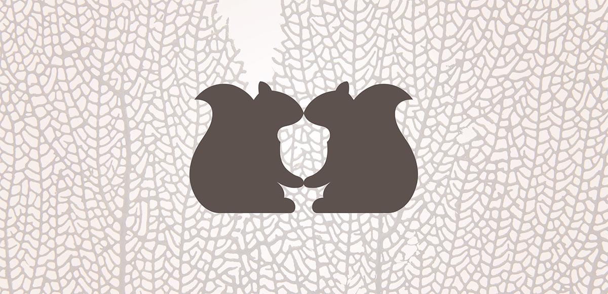 Merzatta squirrel logo
