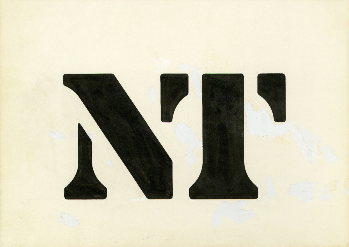 National Theatre logo NT Ian Dennis