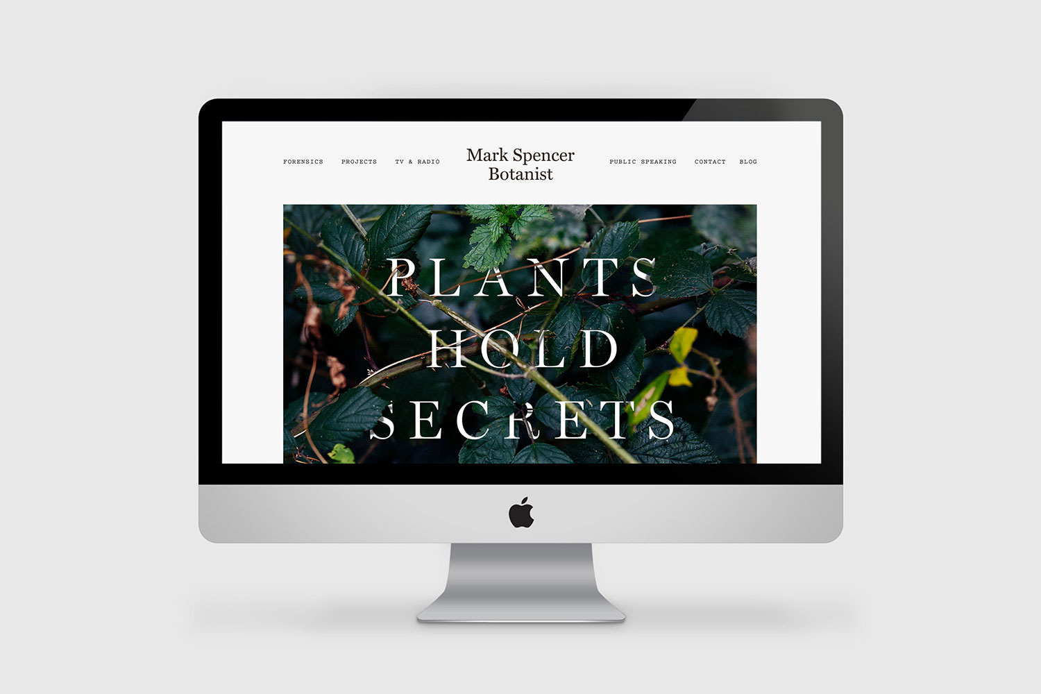 Mark Spencer botanist identity