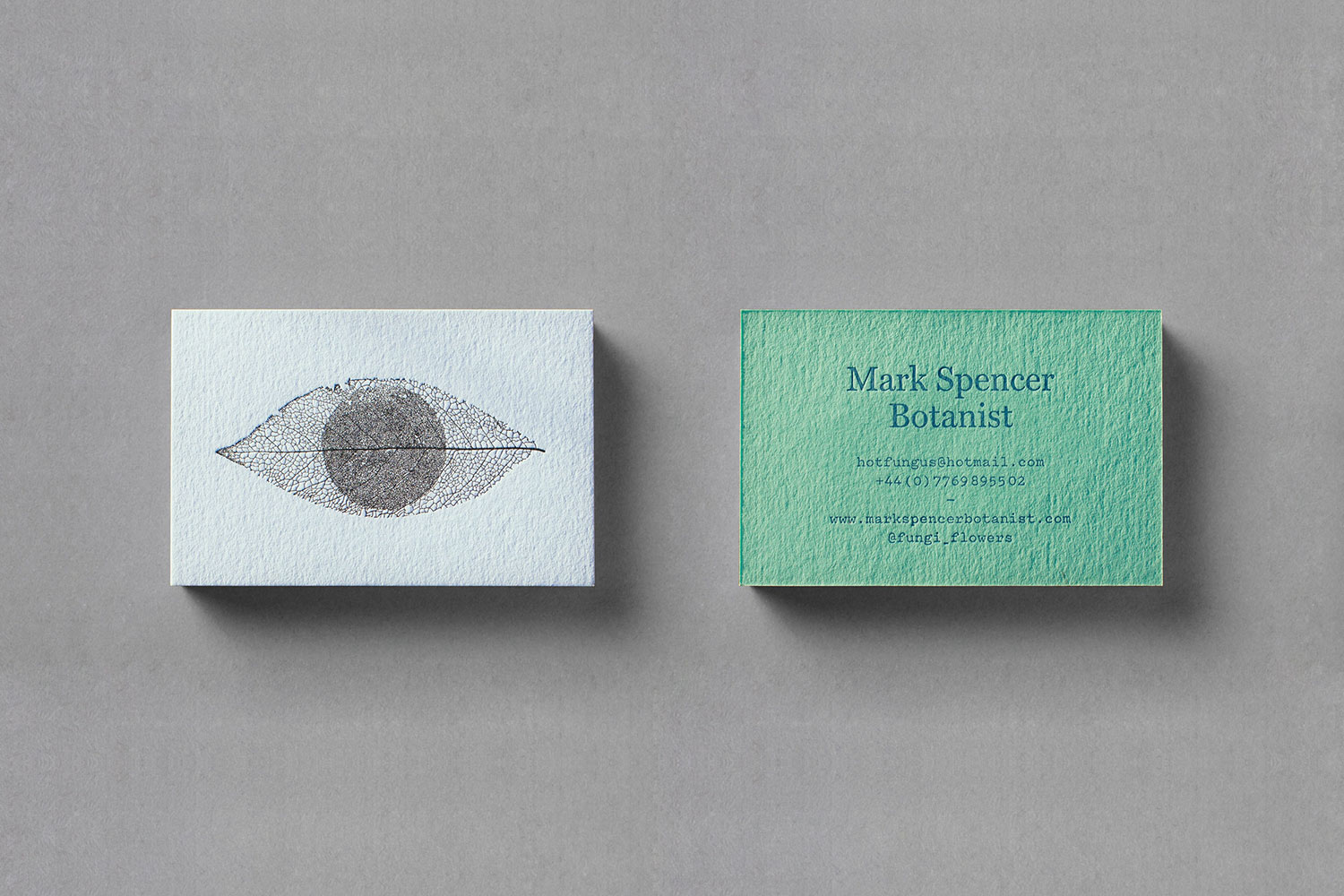 Mark Spencer forensic botanist cards
