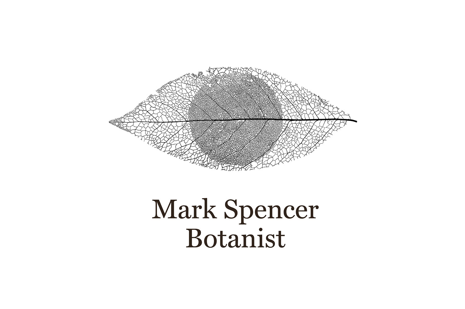 Mark Spencer forensic botanist logo
