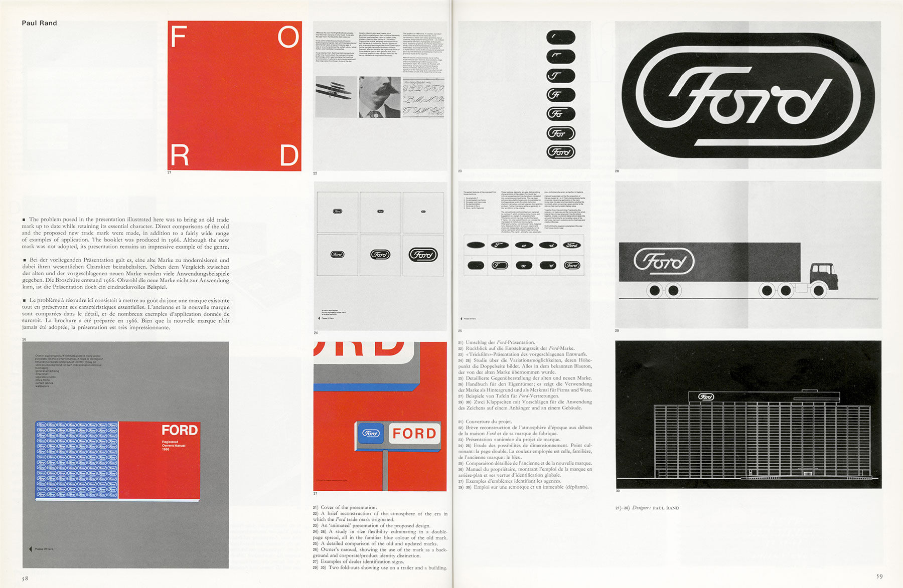 How Paul Rand Presented Logos To Clients Logo Design Love
