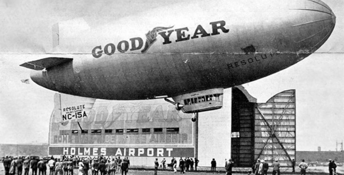 Goodyear Blimp 1912