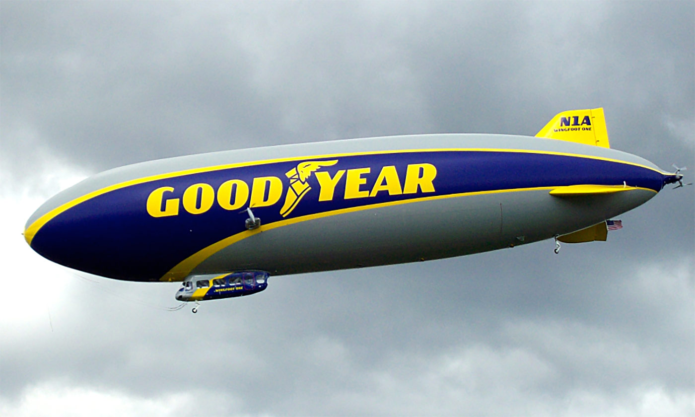 Wingfoot One Goodyear blimp