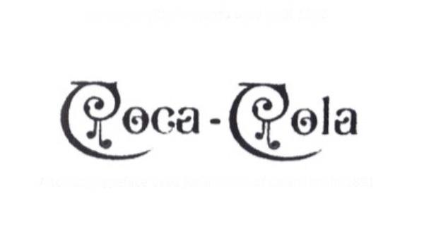 Early Coca-Cola logo