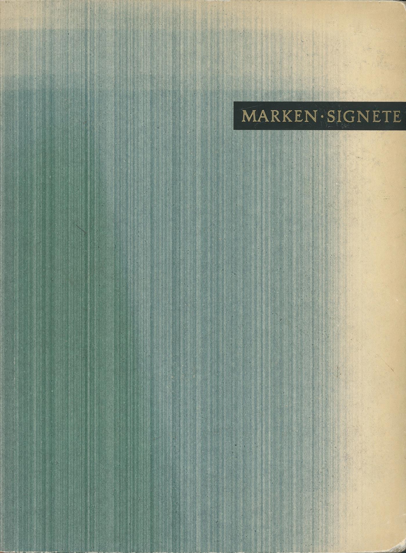 Marken und Signete book 1957